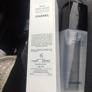 Chanel Rose Massage oil for body
